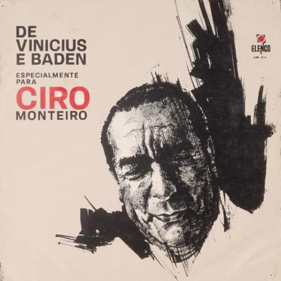 LP/CD DE VINICIUS E BADEN ESPECIALMENTE PARA CYRO MONTEIRO