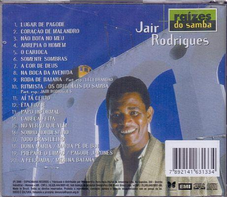 CD Jair Rodrigues - Raízes Do Samba