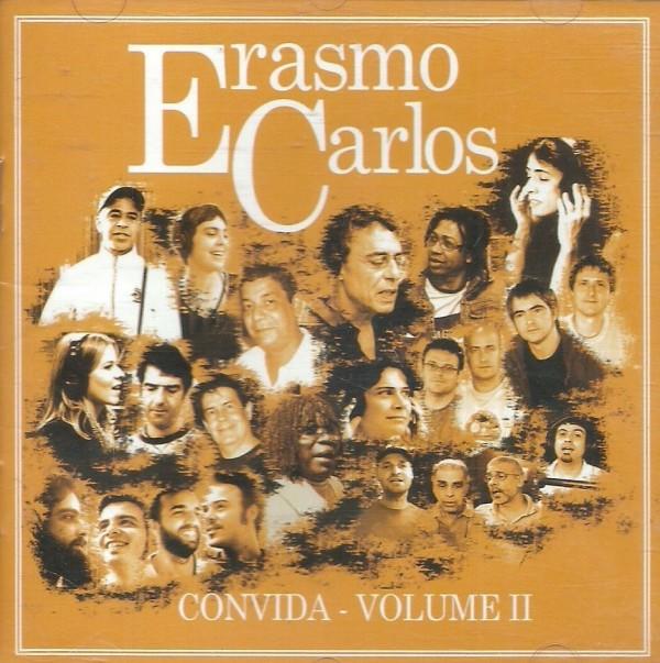 CD ERASMO CARLOS CONVIDA - VOL. II