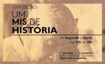 A Exposição 'Um MIS de História' ocupa sede da Lapa