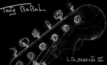 "A guitarra voluntariosa de Babalu em ""Live sessions II"""