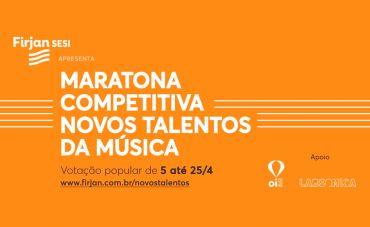 Firjan SESI promove Maratona Competitiva Novos Talentos da Música com entrada gratuita