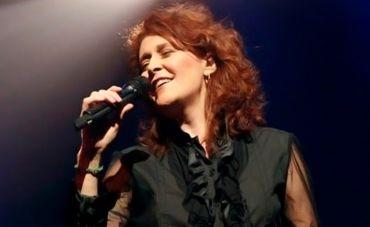 Joanna no show 'De volta ao começo', comemorando seus 40 anos de carreira