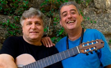 Jorge Simas e Didu Nogueira em