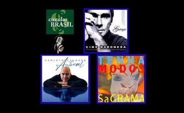 As ricas 'cores' musicais de Guinga, Hamleto e Sa Grama