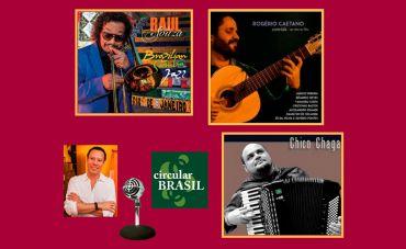Conheça a música de Rogério Caetano (GO), Raul de Souza (RJ) e Chico Chagas (AC)