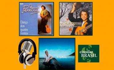 Arthur Maia (baixo), Marco Pereira (violão) e Di Stéffano (bateria), viva a música do Brasil!