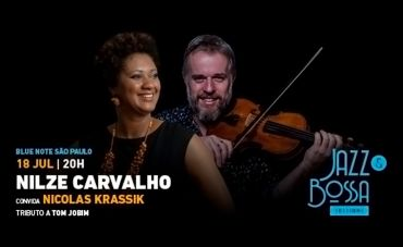 Nilze Carvalho convida Nicolas Krassik para o show
