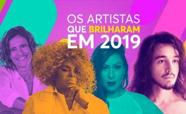 Os artistas que brilharam em 2019