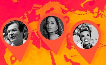 Parcerias de músicos brasileiros com artistas estrangeiros que marcaram a história