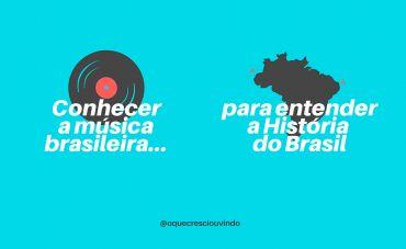 'O Que Cresci Ouvindo': no Instagram, música para entender o Brasil