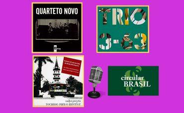 2 atrações atuais e um registro histórico no Circular Brasil dessa semana