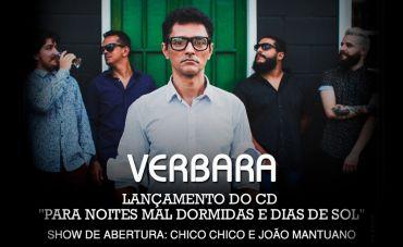 Indie, Brega, Rock: É Tudo Junto e Misturado no Show da Verbara no Teatro Rival