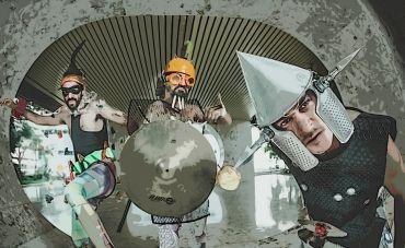 As fusões alucinadas do trio Muntchako