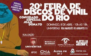 Feira de Vinil no Rio, tem painel de debates, shows e raridades