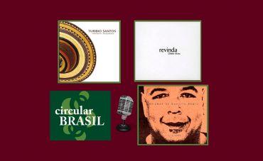 Talentos do violão, saxofone e contrabaixo no Circular Brasil