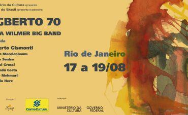Egberto 70 no Rio de Janeiro