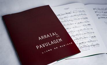 Arraial da Pavulagem em livro/CD