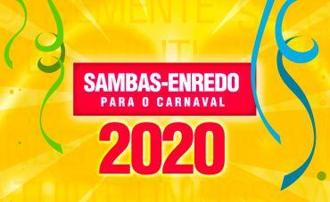 Conheça os 13 sambas-enredo que desfilam na Sapucaí em 2020