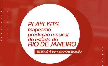 Playlists mapearão produção musical do estado do Rio de Janeiro