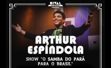 Arthur Espíndola no Teatro Rival Petrobras