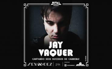 Jay Vaquer apresenta show no Teatro Rival