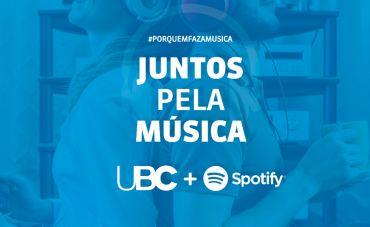 Juntos Pela Música: UBC e Spotify se unem para contornar a crise
