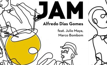 """""""JAM"""" celebra os 25 anos de baquetas de Alfredo Dias Gomes"""