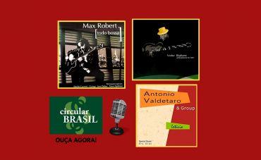 Dois guitarristas e um Baixista no Circular Brasil