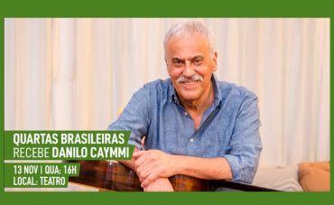 Danilo Caymmi homenageia o pai no projeto Quartas Brasileiras no show 'Viva Caymmi'