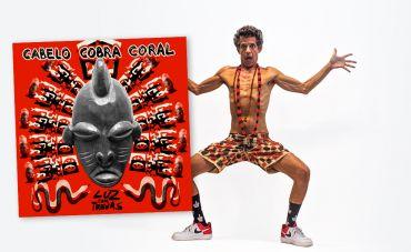 Cabelo Cobra Coral lança 'Luz com Trevas'