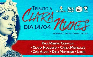 Tributo a Clara Nunes em Brasília