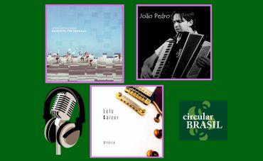 Vamos conhecer de perto os trabalhos do Tim Rescala (RJ), Lelo Kaizer (ES) e João Pedro (PR)