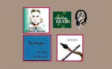 Talentos da gaita, viola caipira, sax e flauta no Circular Brasil