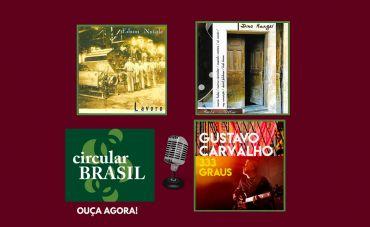 Edson Natale, Dino Rangel e Gustavo Carvalho no Circular Brasil