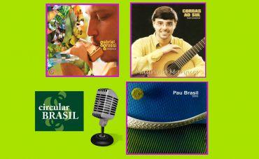 Maurício Marques, Gabriel Grossi e Grupo Pau-Brasil são as atrações do Circular Brasil desta semana