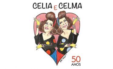 Os 50 anos de carreira da dupla de gêmeas Célia e Celma