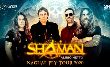 Shaman volta com 'Nagual Fly Tour 2020', dessa vez no Circo Voador