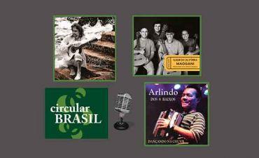 Viola Caipira, Violões e Sanfona de 8 Baixos no Circular Brasil