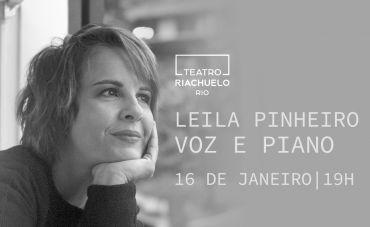 """Leila Pinheiro celebra um ano de """"Música das 7"""", no Riachuelo"""