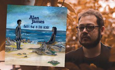 Alan James abre nova fase com tons de rock setentista em 'Antes Que o Dia Acabe'