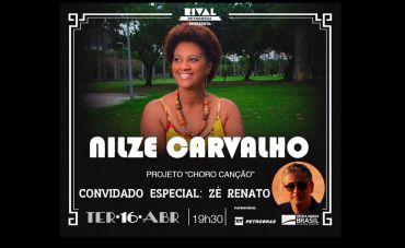 Nilze Carvalho convida Zé Renato no Teatro Rival