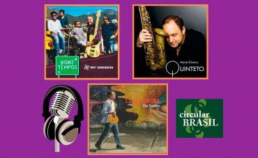 Conheça o balanço e o talento de artistas do Norte e Sudeste no Circular Brasil desta semana