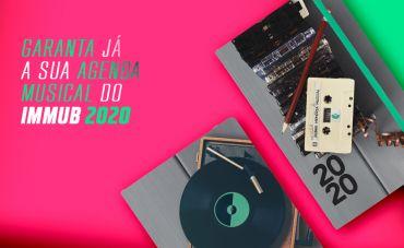 Garanta já a sua Agenda Musical do IMMuB 2020!