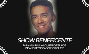 """Show Beneficente """"André Negão"""""""