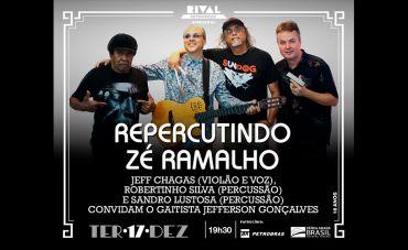 Repercutindo Zé Ramalho no Teatro Rival