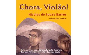 Nazareth e outros clássicos no violão de Nicolas