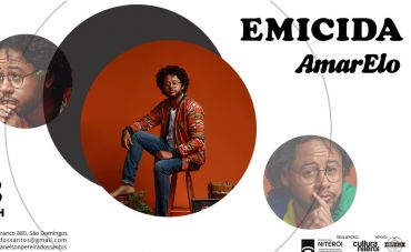 Emicida apresenta a turnê AmarElo em Niterói