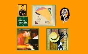 Conheça a diversidade musical de Gabriel Improta, Jeff Gardner e Grupo Chapéu de Palha!