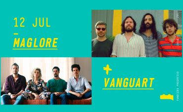 Maglore e Vanguart na Fundição Progresso